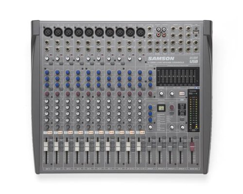 Console Bus 8 Recording (Samson L1200 12-Channel/4-Bus Professional Mixing Console)
