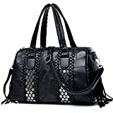 Women's Handbags Purses Totes Top Handle Bags With Tassels