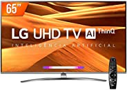 Smart TV LED PRO 65'' Ultra HD 4K LG 65UM761C0SB.BWZ 4 HDMI 2 USB Wi-Fi Conversor