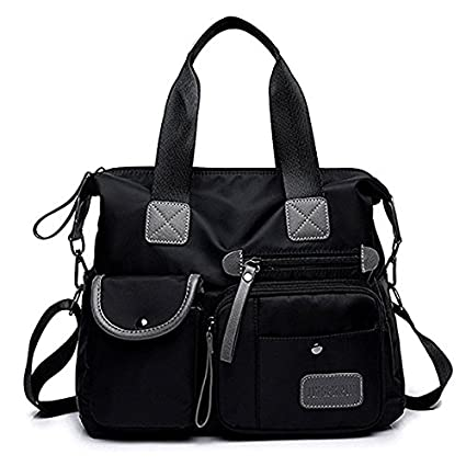 02c926f2ae4a Image Unavailable. Image not available for. Color  Taoqiao Korean canvas  bag ladies bag shoulder bag nylon Oxford handbags Messenger bag crossbody  ...