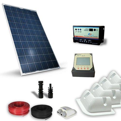 Kit solar Camper 200W 12V Pro Panel Photovoltaik