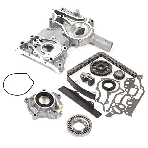 75-82 Toyota 2.2 SOHC 8V 20R / 2.4 SOHC 8V 22R Timing Chain Kit w/ Timing Cover Oil Pump (Timing Chain Toyota 22r compare prices)