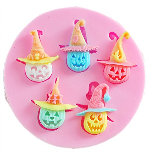 CC-JJ - Halloween silicone mold,Fondant Cake Decorating Tools -