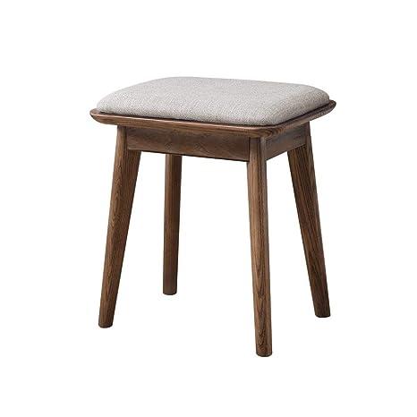Peachy Amazon Com Aijl Footstool Solid Wood Shoe Bench Inzonedesignstudio Interior Chair Design Inzonedesignstudiocom
