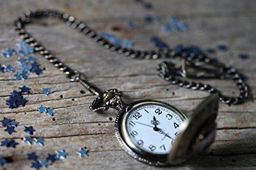Earth-Pocket-Watch-in-Antique-Bronze
