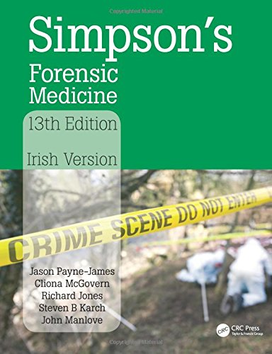 Simpson's Forensic Medicine, 13th Edition: Irish Version