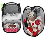 AOMGD 2 Pack - Mesh Pop-Up Laundry Hamper with