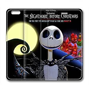 iCustomonline The Nightmare Before Christmas Fashionable PU Leather Case for iPhone 6 Plus( 5.5 inch)