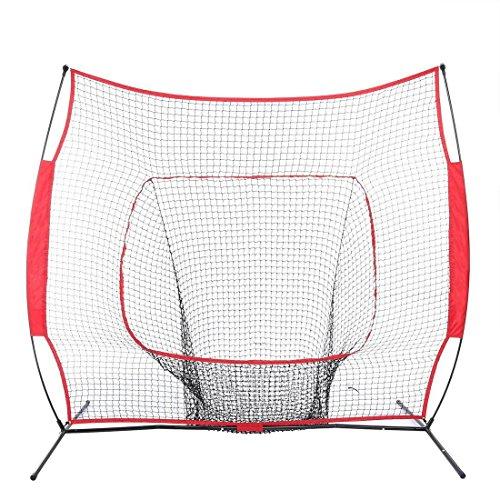 eshion 7x7 Baseball / Softball Net   Practice Hitting, Pi...