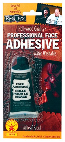 Rubie's Reel FX Face Adhesive, Clear, One Size]()