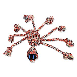 Mammoth SnakeBiter Spider 11-inch Rope Toy, Medium (Assorted Colors)