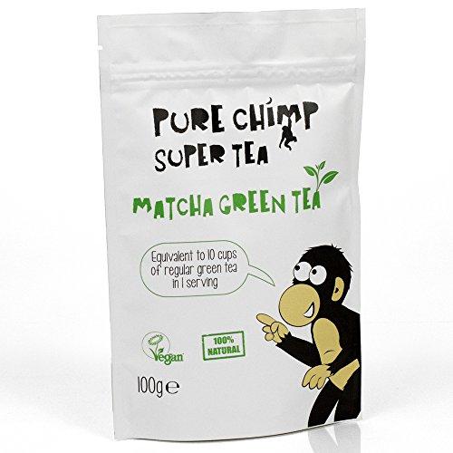 Matcha Green Tea Powder 100g by PureChimp - Ceremonial Grade From Japan