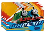 Zak! Designs Placemat with Thomas and Friends Graphics, Set of 4, BPA-free Plastic