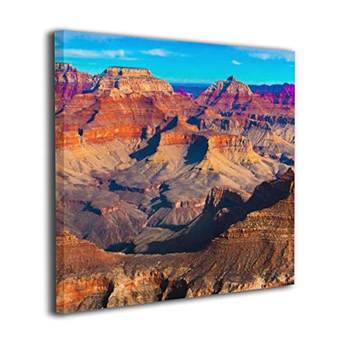 "Canvas Wall Art Prints The Beautiful Landscape Of Grand Canyon National Park Arizona Picture Paintings Contemporary Home Decoration Giclee Artwork Wood Frame Gallery Stretched 20""x20"""