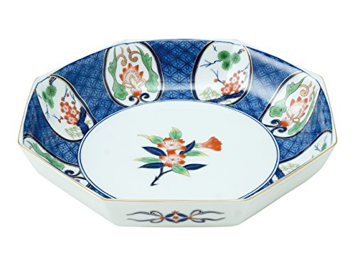 Octagonal Bowl of wood boxed cherry blossoms 45026680, Asian, Oriental, Japanese dish plates Traditional Collection/Yamashita Craft ()