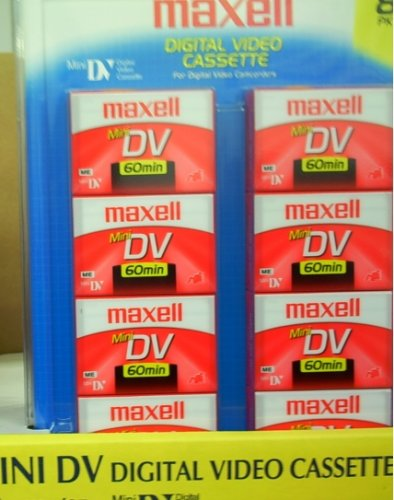 Maxell MiniDV 60 8-pack by Maxell