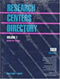 Research Center Directory, , 078761341X