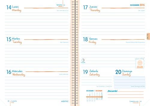 Agenda escolar 2015-2016 Additio Planet: Amazon.es: Oficina ...