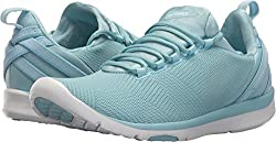 Asics Women's Gel-fit Sana 3 Porcelain Bluesilverwhite 8 B Us