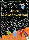 JEUX D'OBSERVATION par Khan
