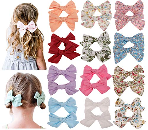Baby Girls Hair Bows Clips,Hair Barrettes Accessory for Babies Infant Toddlers Kids Hair Accessories