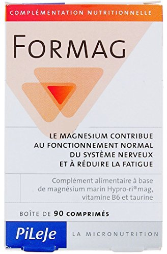 Pileje Formag Marine Magnesium Tablets with Bitamin B6 - 90 Tablets by Formag