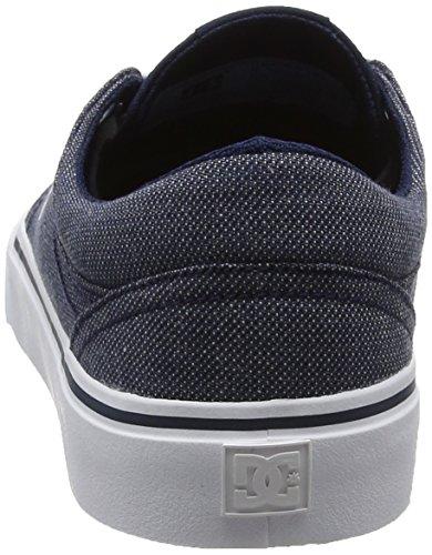 DC Gris Shoes Trase Mujer TX Chambray Se Zapatillas para 6SfUnw6gq