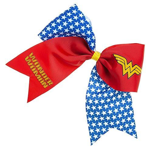 Super Hero Bow Hair - Wonder Woman Cheer Hair Bow