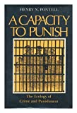 A Capacity to Punish, Henry N. Pontell, 0253313090