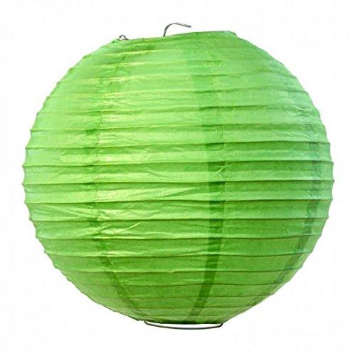 Koyal-Wholesale-Paper-Lantern-8-Inch-Kiwi-Green