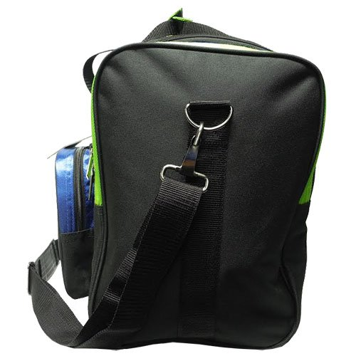 Pyramid Path Pro Deluxe Single Tote - Lime Green/Royal Blue