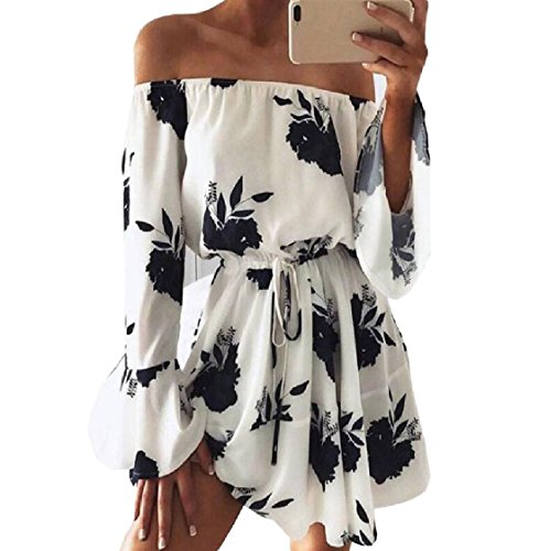 Coolred Beach Dress Line Women Black Strappy Sexy Floral Flare A Tribal 8z8Bqn7wr