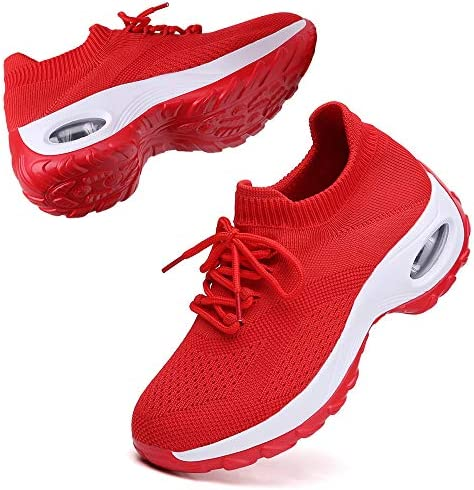 TSIODFO Womens Sneakers Athletic Sport Running Tennis Walking Shoes