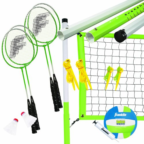 Franklin Sports Intermediate Badminton/Volleyball (Intermediate Set)