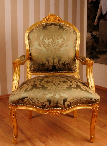 Palazzo rococó sillón, arms SEL, sentarse, sillón, cojín ...