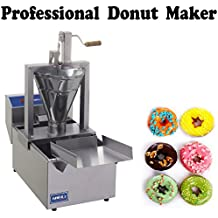 Compact Donut Fryer Maker Machine 80 Pc/h + Tank (220V)
