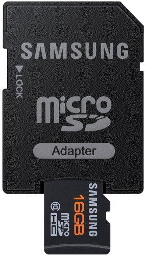 Samsung MB-MPAGAEU - Tarjeta microSD de 16 GB, Plata