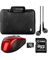 """Sleeve for HP ProBook Series 14"""" 15.6"""" Laptops+HDMI Cable+Mouse+64GB Memory Card"""