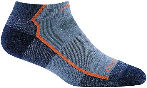 Darn Tough Hiker No Show Light Cushion Sock - Women's Denim Medium ()