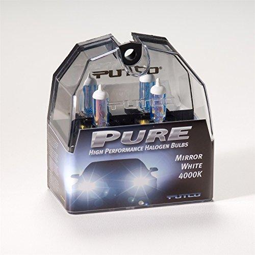 Putco 230011MW Pure Halogen Headlight Bulb - Mirror White - H11 (Chevrolet Tahoe Putco Mirror)