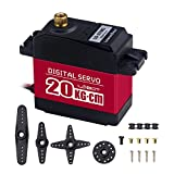 Hiwonder LD-27MG Full Metal Gear Standard Digital Servo with 20kg High Torque, Aluminium Case for Robot RC Car(Control Angle 270)