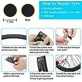 Chumxiny Bicycle Repair Kit, Bike Tire Repair Tool