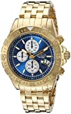 Invicta Men's 18855 Aviator Analog Display Japanese Quartz Gold Watch