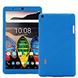 Huawei MediaPad T3 7.0 Case - HminSen (2017 [Kids Friendly] Light Weight [Anti Slip] Shockproof Protective Cover for Huawei MediaPad T3 7.0 WiFi (BG2-W09) Tablet 2017 Release, (Navy Blue)