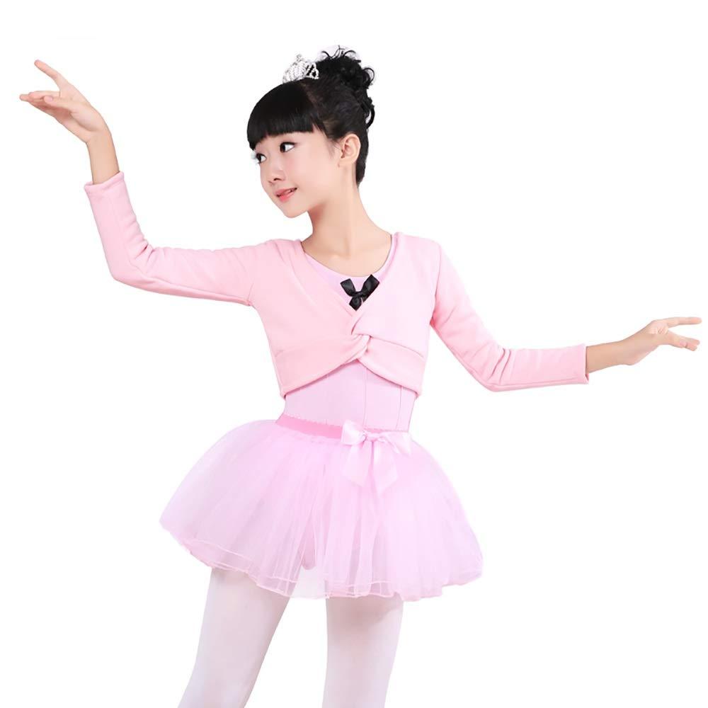 Jian E& E& E& Dance Wear-Kinder Dance Wear Dreiteilige Mädchen Herbst und Winter Mantel Übung Kleidung Rosa Plus Samt Verdickung Ballett Rock Anzug B07P5C1311 Bekleidung Extreme Geschwindigkeitslogistik e0fcc3