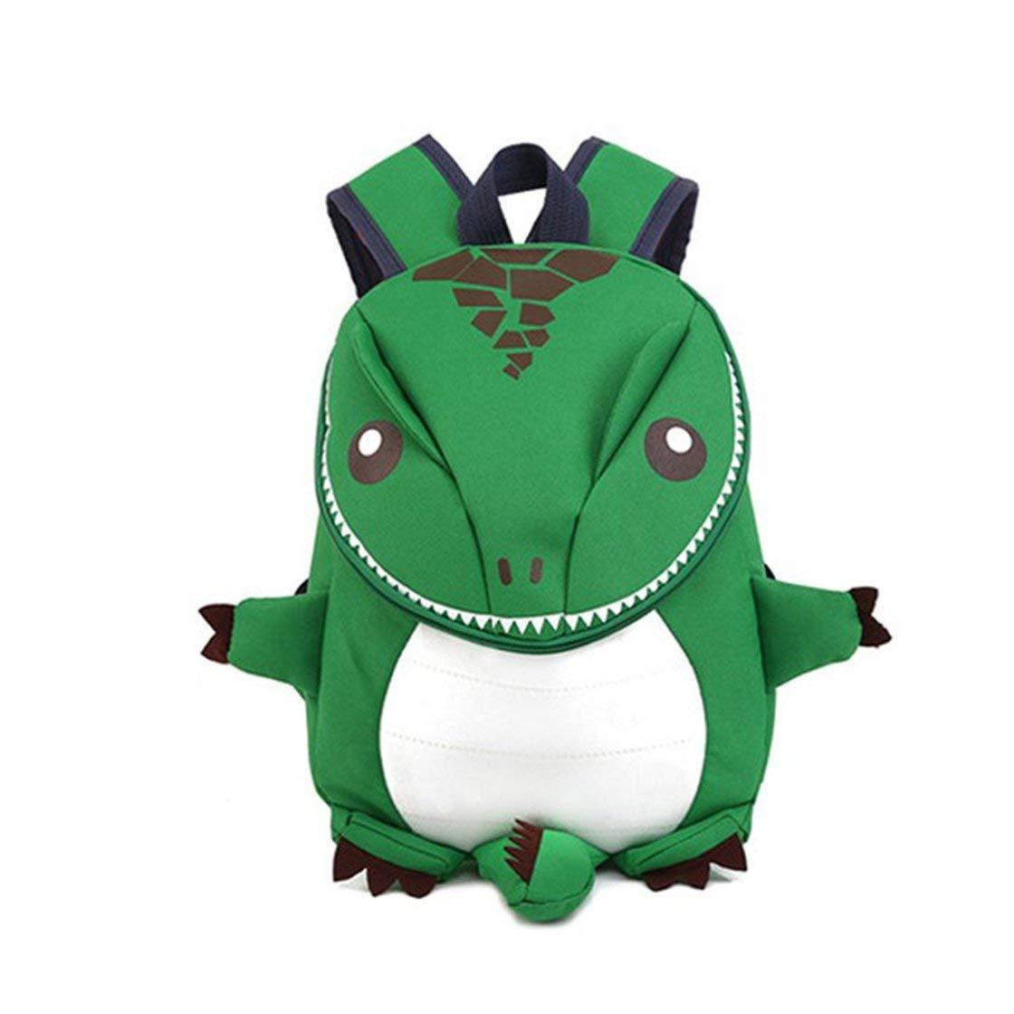 Divertido lindo diseño niños niños bolso de escuela ligero peso animal dinosaurio forma jardín de niños preescolar niños mochila Laurelmartina