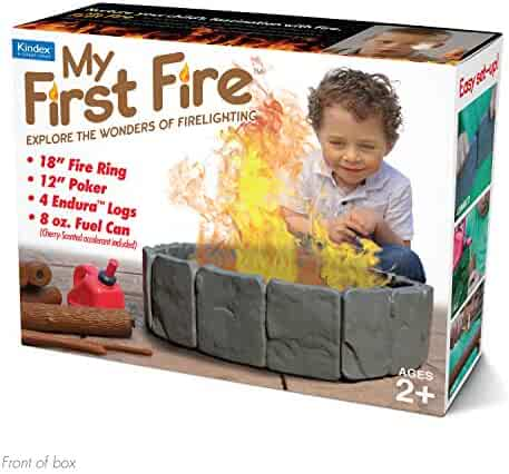 """Prank Pack """"My First Fire"""" - Wrap Your Real Gift in a Funny Joke Gift Box - by Prank-O"""