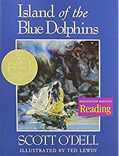 island of the blue dolphins the complete reader s edition scott  island of the blue dolphins houghton mifflin challenge level theme 2 grade 5