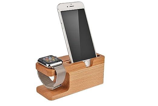 amazon co jp apple watchスタンド aurotrends竹木製iwatch充電