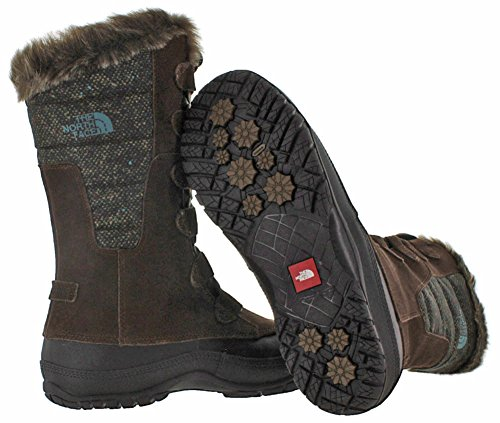 Face Purna Earth North Dark Nuptse The Womens Brown Blue Storm aSFRv